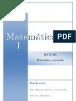 MATLAB - Comandos y Ejemplos