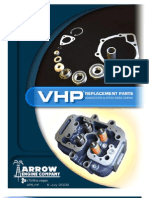 VHP Parts Book Arrow Engine