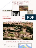 Grupo 5 La Gens y El Estado en Roma