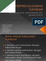 Interpretasi Daerah Sukabumi