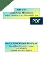Luis Jungbluth - SCM Generalidades, tendencias y ventajas en su aplicación