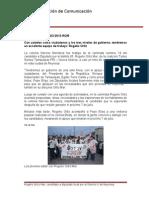 06-06-2013 Boletín 019-'Con ustedes como ciudadanos y los tres niveles de gobierno, tendremos un excelente equipo de trabajo' Rogelio Ortiz