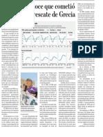 FMI y La Crisis en Grecia