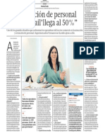 Rotacion Personal Tiendas Retail Peru