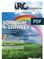 Microsoft ARC Magazine - Software+ Services Issue 1