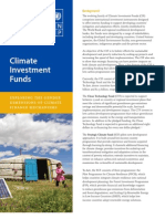 Gender Dimensions of the Climate Investment Funds - Exploring the gender dimensions of climate finance mechanisms - July 2011
