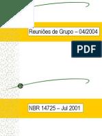 Norma NBR 14725-2004