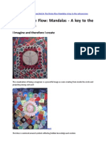 In the Divine Flow - Mandalas - A Key to the Subconscious