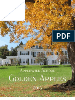 Applewild School Golden Apples 2013