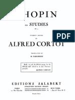 Chopin - Etudes Op. 10 (Cortot)