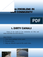 The 10 Problems in Our Community