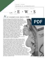 PAHMA Newsletter (Spring, 2006)
