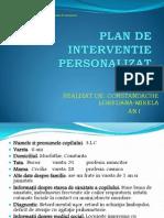 Plan de interventie personalizat