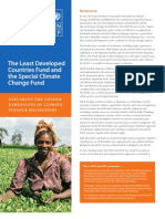 Gender Dimensions of the Least Developed Countries Fund and Special Climate Change Fund - November 2011