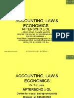Accounting, Law & Economics 28 November