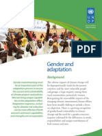 Gender and Climate Change - Africa -  Policy Brief 2