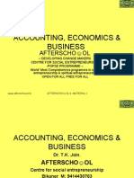 ACCOUNTING ECONOMICS AND BUSINESS 13 NOV