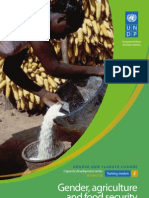 Gender and Climate Change - Africa - Module 4