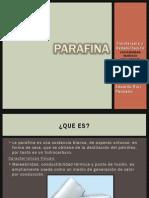 Parafina terapeutica