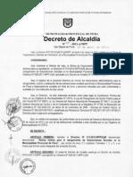 Decreto de La Gerencia de Desarrollo Social