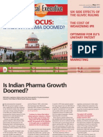 Is Indian Pharma Growth Doomed?