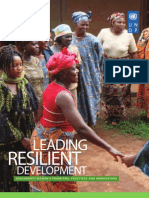 Leading Resilient Development - Grassroots Practices & Innovations - March 2011
