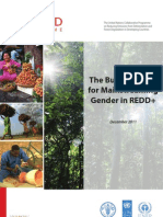 The Business Case for Mainstreaming Gender in REDD+ - November 2011