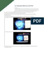 Cara Memperbesar Kapasitas Memory Card Ps2