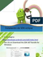 Instalación de SDK eclipse