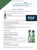 Como Cristalizar Licores _ Receitas de Licores Caseiros