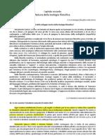 TF2011 02 Natura Della Teologia Filosofica - Domande