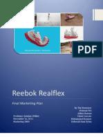 Reebok - Marketing Plan