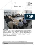 02/02/12 Germán Tenorio Vasconcelos SE REUNE CON UNIÓN LIBERAL DE AYUNTAMIENTOS DEL DISTRITO DE IXTLÁN