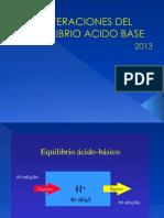 Clase Desequilibrio Acido Base