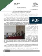 14/02/12 Germán Tenorio Vasconcelos presentan Manual de Cuidados Paliativos, Uriah Guevara y Secretario de Salud