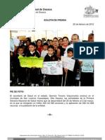 25/02/12 Germán Tenorio Vasconcelos pie de Foto Primera Semana Nacional de Salud