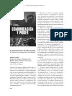 Comunicacion y Poder. Manuel Castells