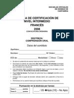 Frances Intermedio Compr Oral