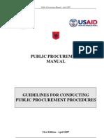 EU Public Procurement Manual 2013