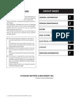 20gv250 Service Manual Content (1)