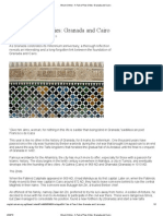 A Tale of Two Cities_ Granada and Cairo