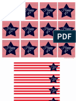 4th of July Printables Free