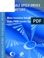 Motor Insulation Voltage Stresses