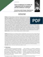 Adoção de E-business e mudanças no modelo de negócio