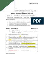 Paper-1 Set-A_Key