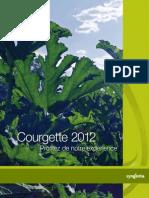 Semences Courgettes Catalogue 2012
