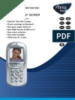 Philips Fisio 825 datasheet