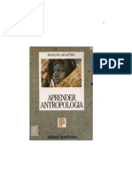 1362077345585 Aprender Antropologia - Francois Lapantine