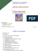 Cálculo III.(Presentaciones de Clase, Univ. de la Frontera)