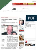 Murió Tom Sharpe, el autor de Wilt
